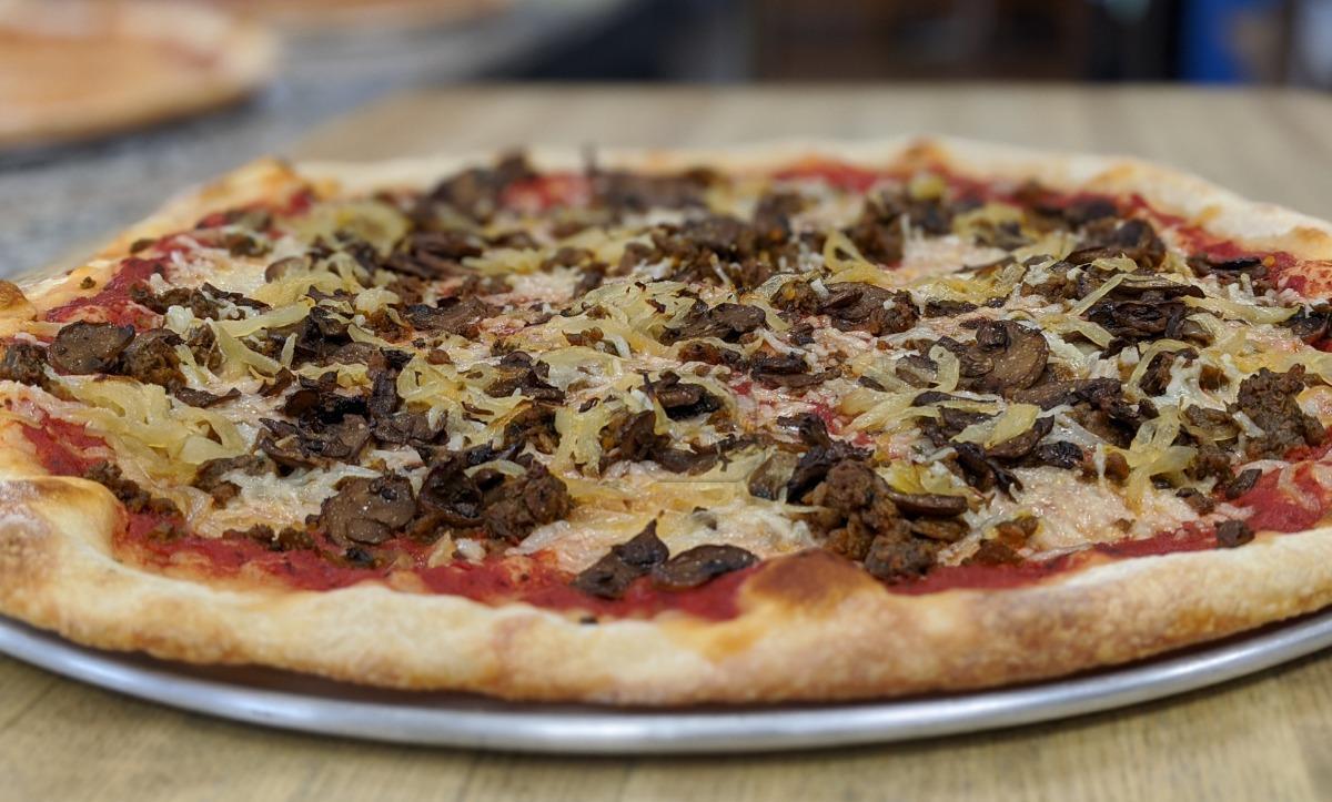 Vegan Fancy Pizza - Large (18