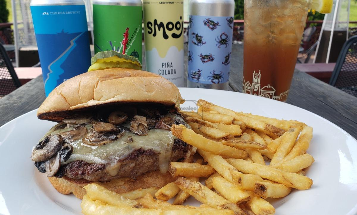 Truffle Burger (Tuesday Special)