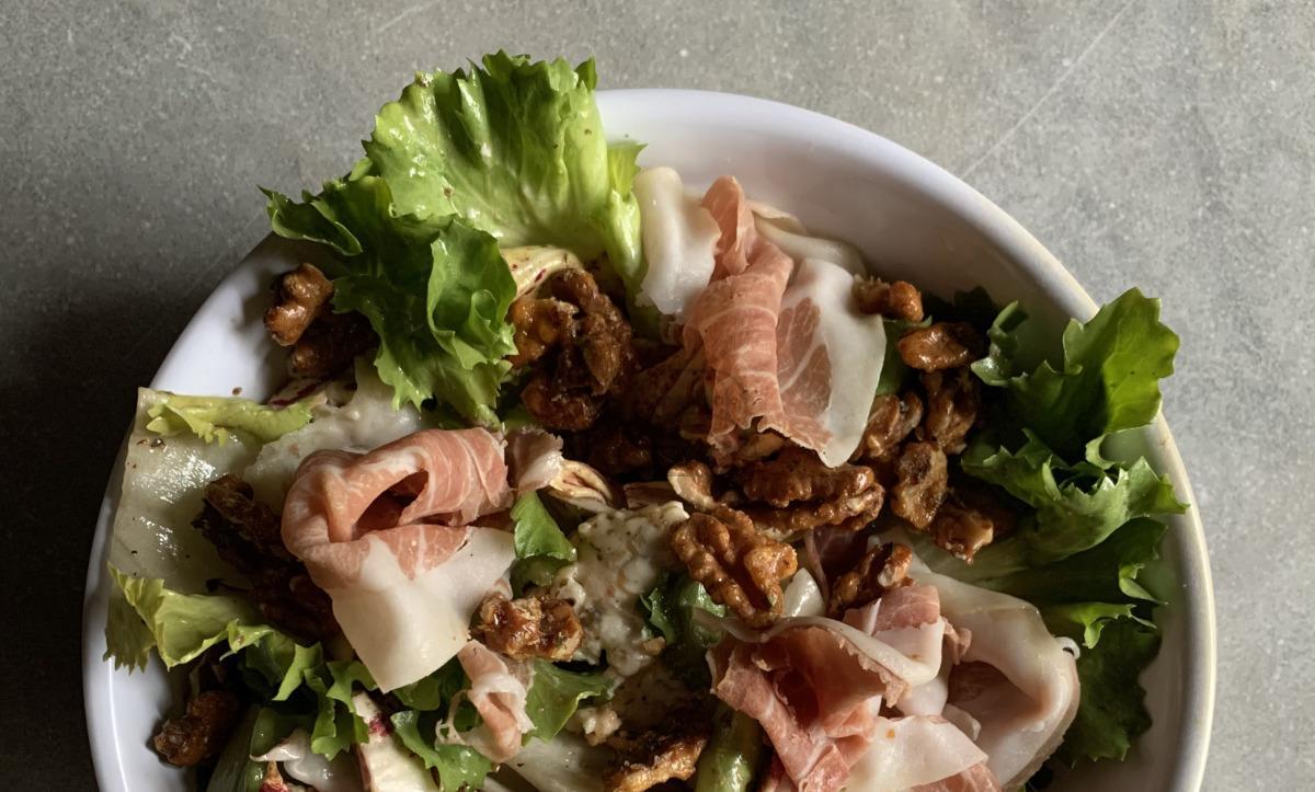 Escarole & Prosciutto Salad