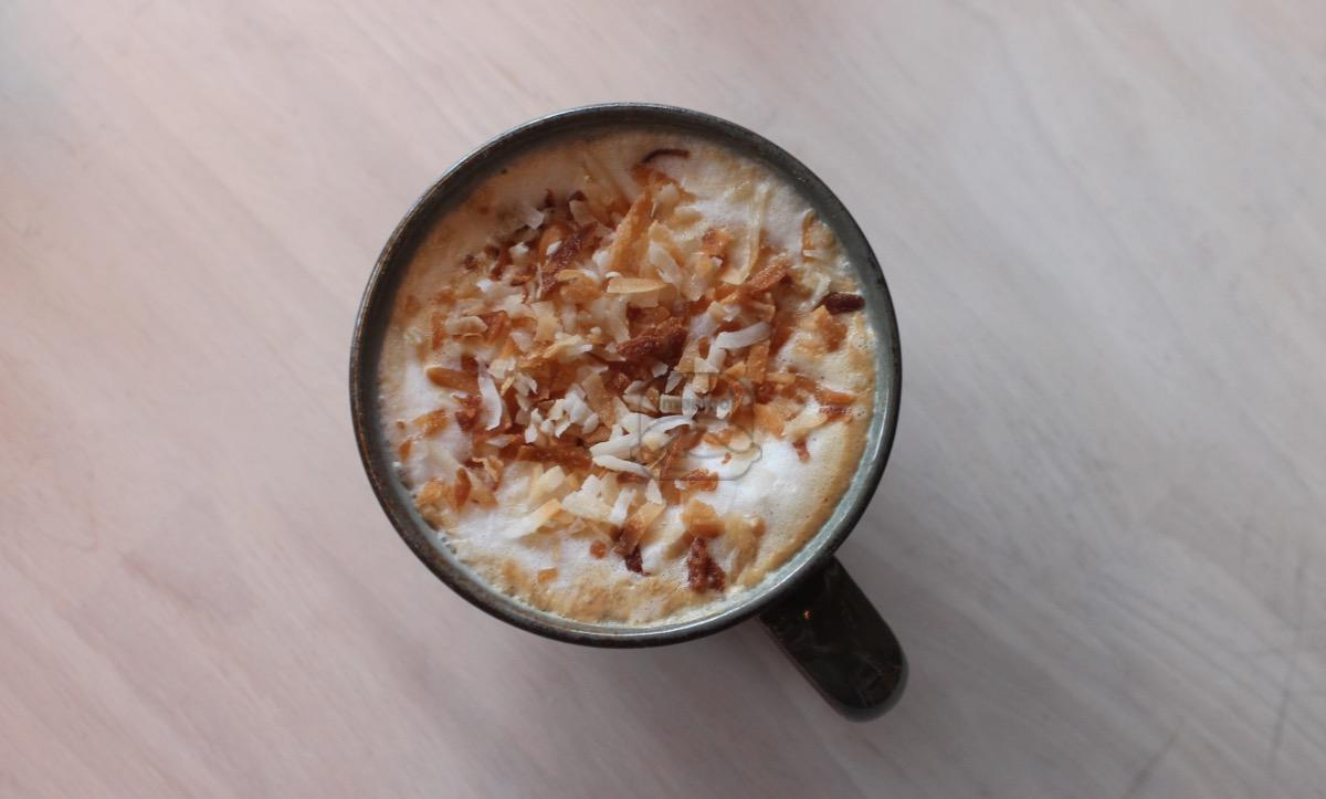 Toasted Coconut Latte
