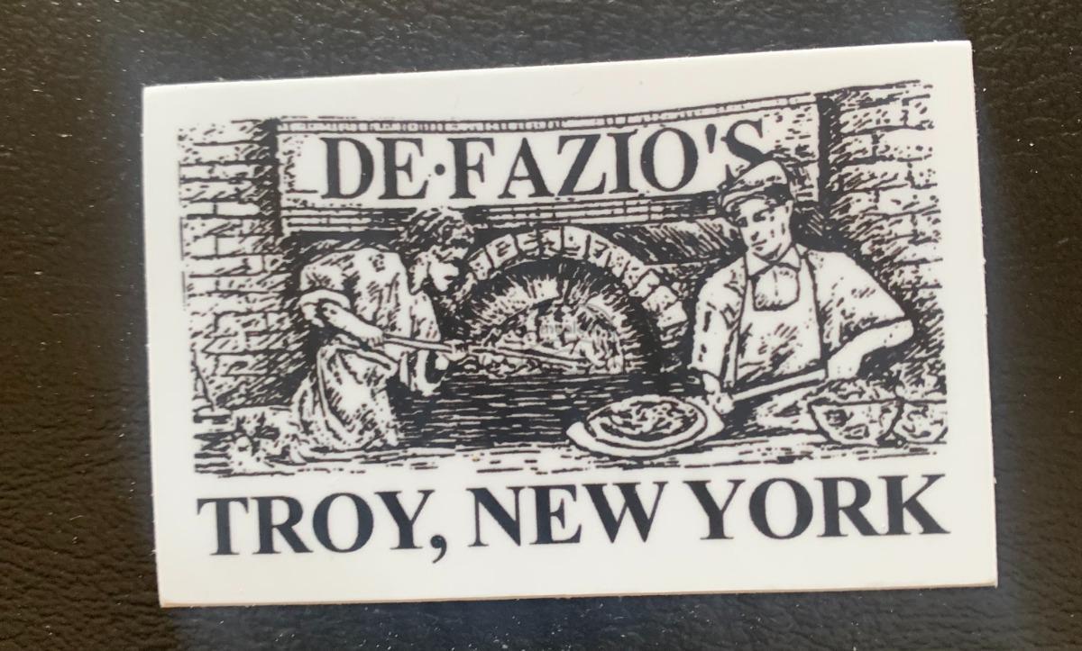 DeFazio's Old School Sticker