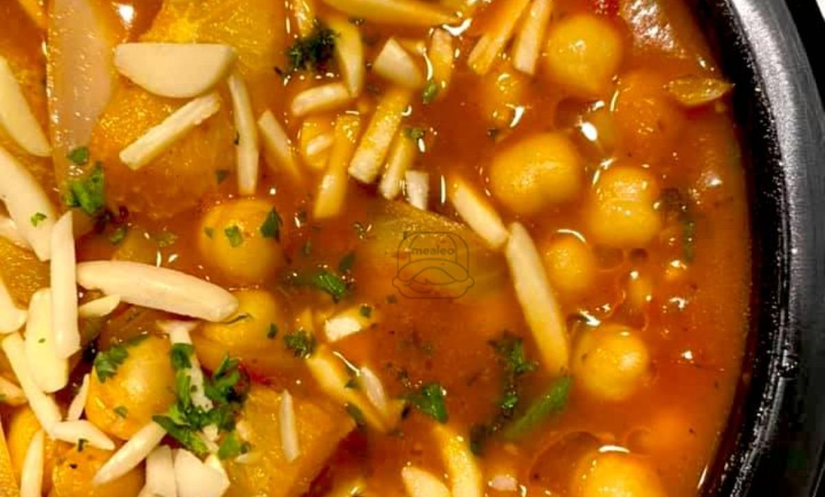 Chickpeas with Oranges Tagine