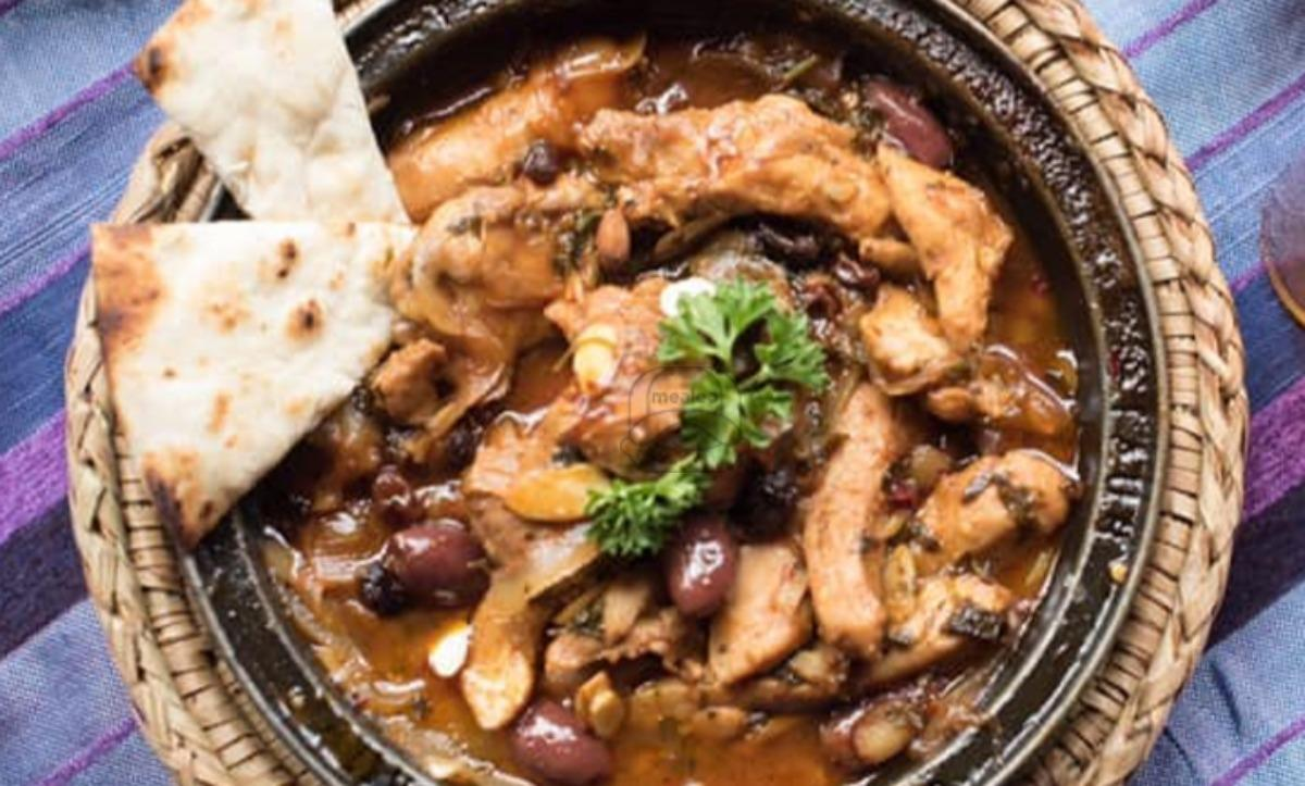 Chicken with Pomegranate Molasses Tagine