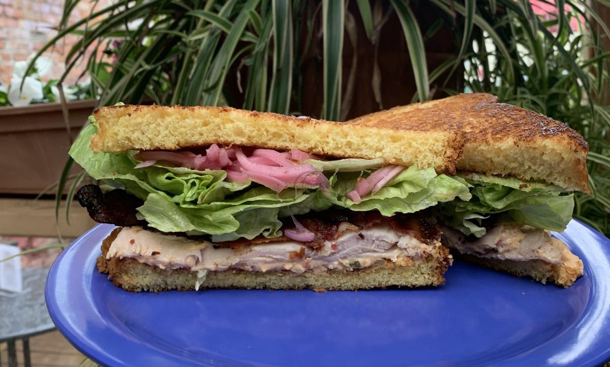 Turkey Pimento Cheese Sandwich