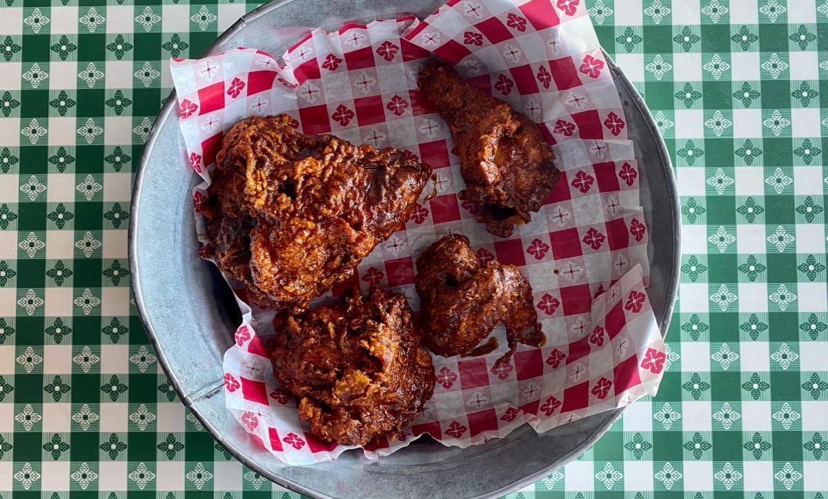 1/2 Nashville Hot Fried Chicken