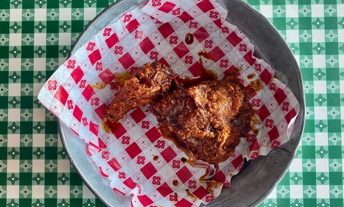 1/4 Nashville Hot Fried Chicken