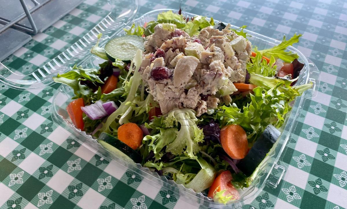 Chicken Salad Garden Salad