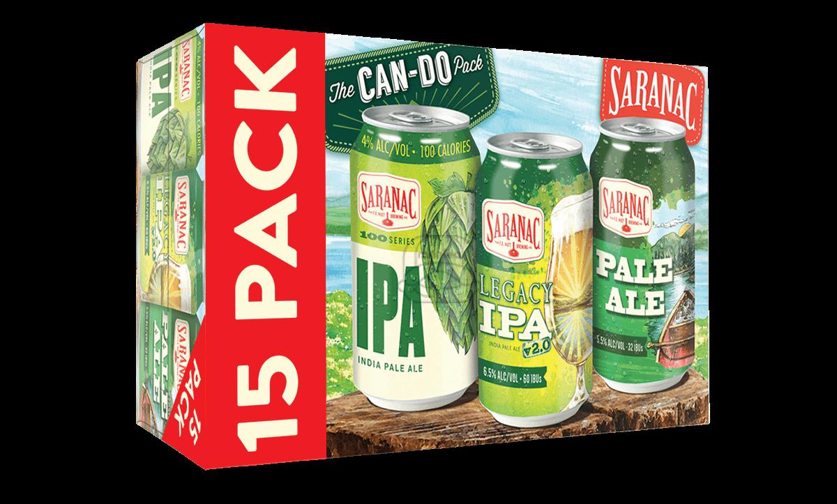Saranac Can Do Variety (15-Pack)