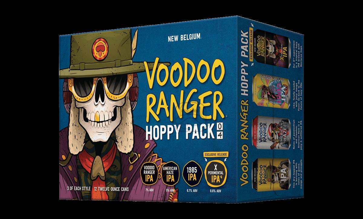 New Belgium Voodoo Variety IPA (12-Pack)