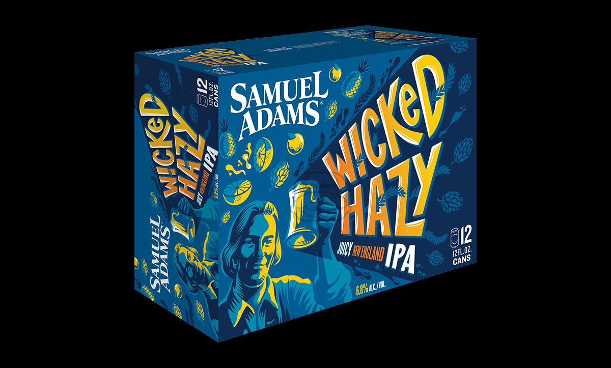 Sam Adams Wicked Hazy (12-Pack)
