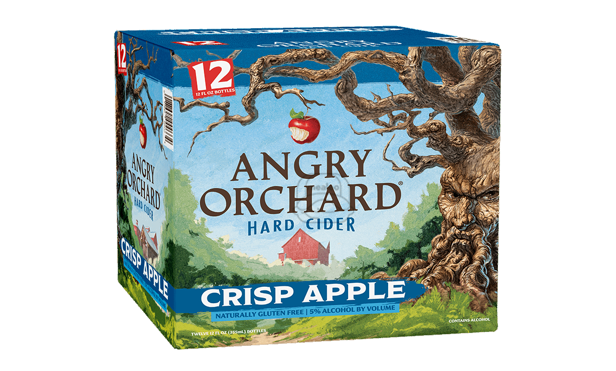Angry Orchard Crisp Apple Cider (12-Pack)