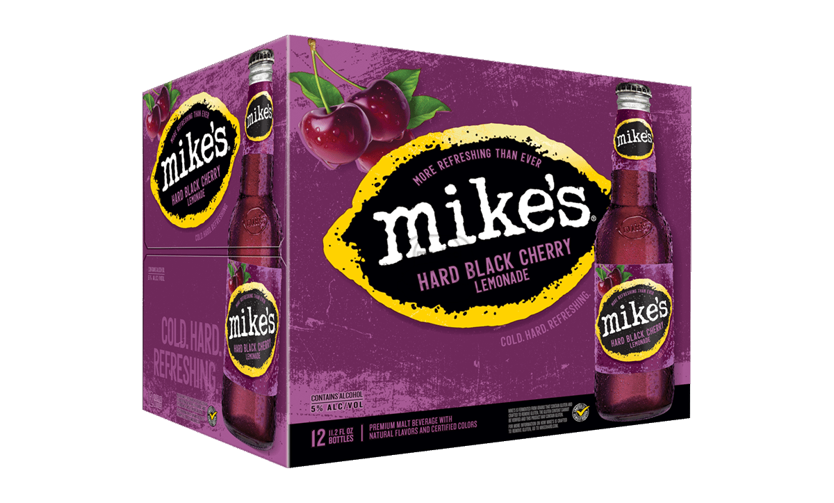 Mike's Black Cherry (12-Pack)