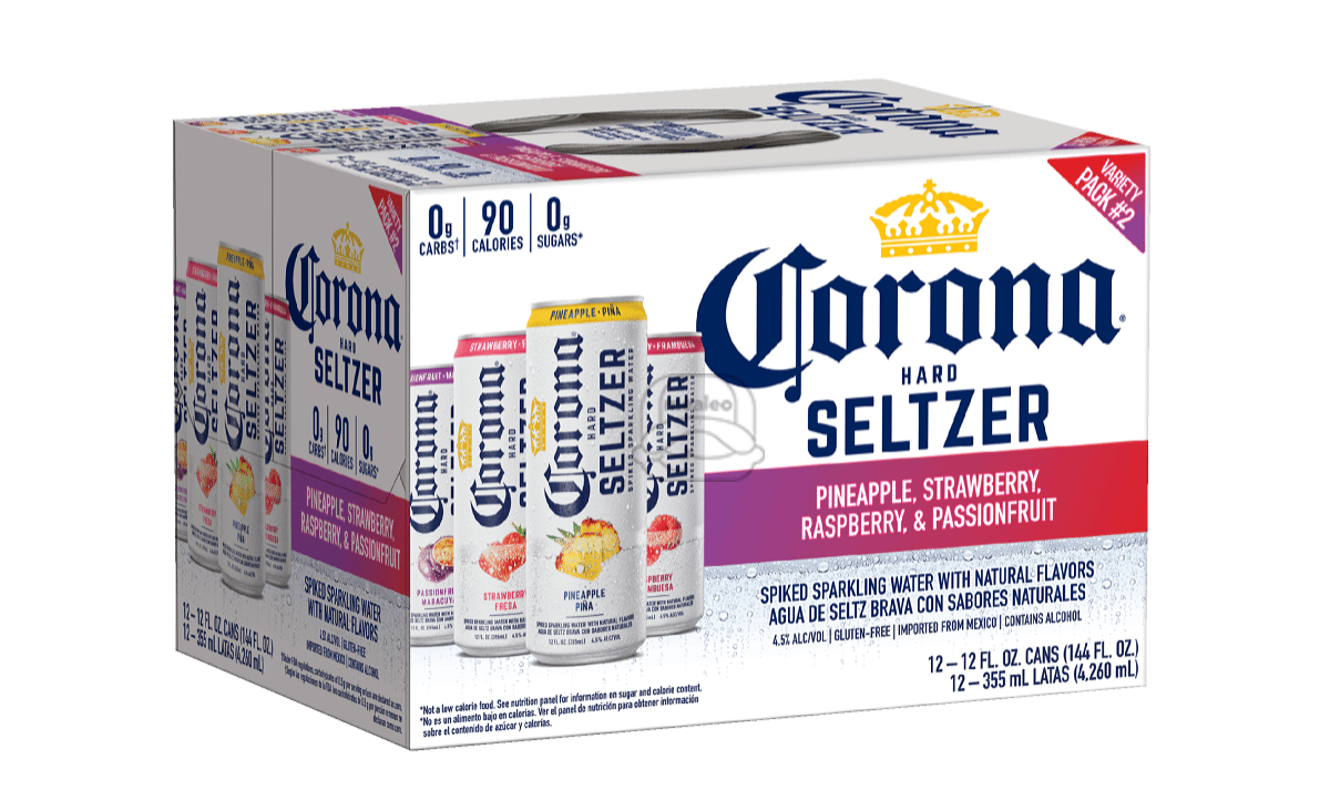 Corona Seltzer #2 Variety (12-Pack)