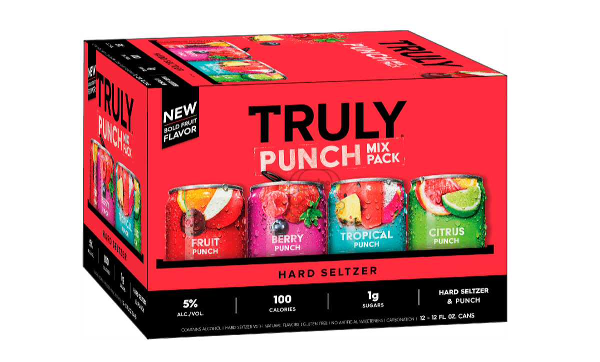 Truly Punch Seltzer Variety (12-Pack)
