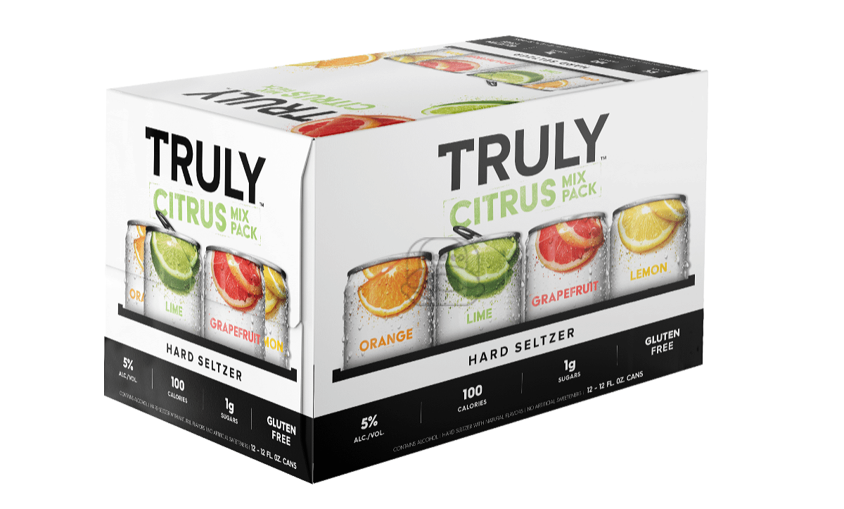 Truly Citrus Seltzer Variety (12-Pack)