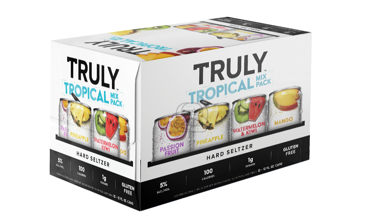 Truly Tropical Seltzer Variety (12-Pack)
