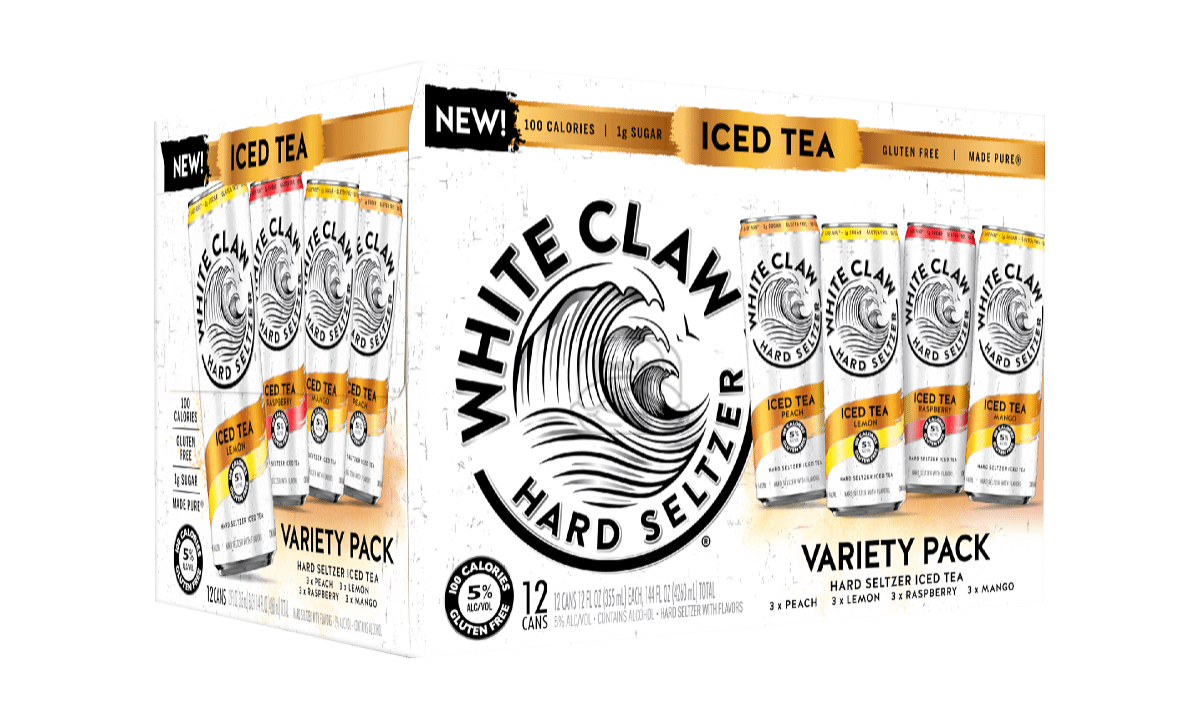 White Claw Tea Variety (12-Pack)