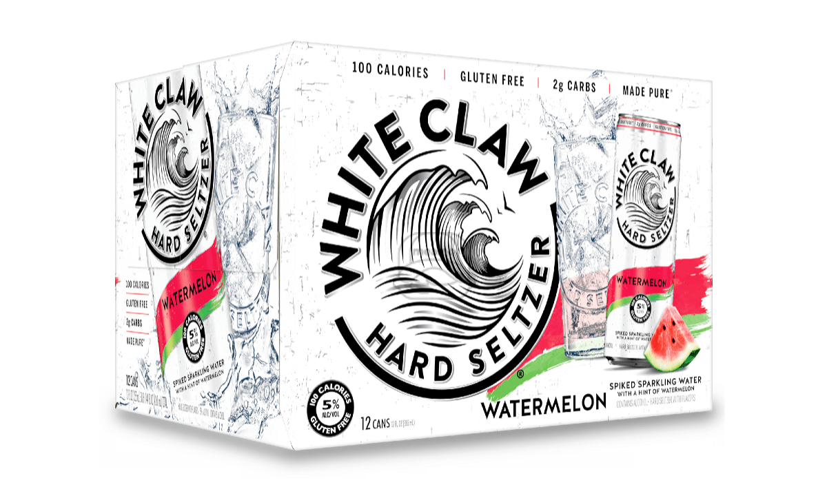 White Claw Watermelon Seltzer (12-Pack)