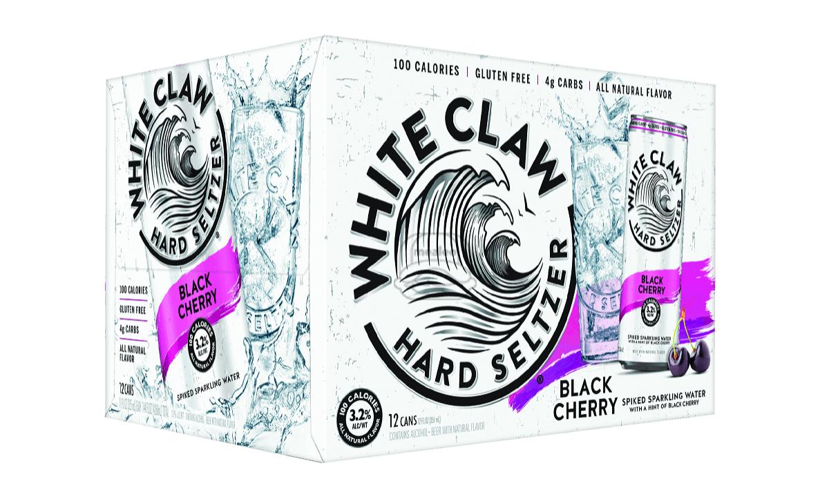 White Claw Black Cherry Seltzer (12-Pack)