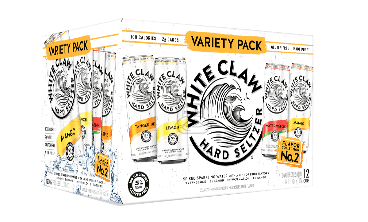 White Claw Seltzer #2 Variety (12-Pack)