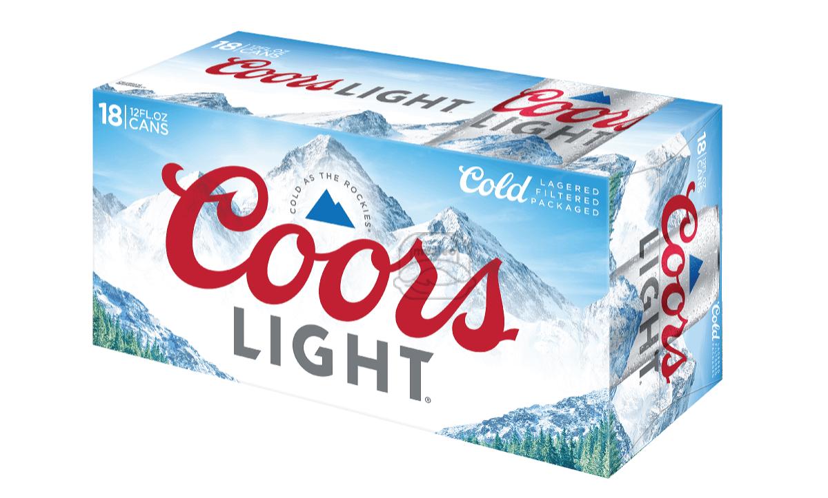 Coors Light (18-Pack)