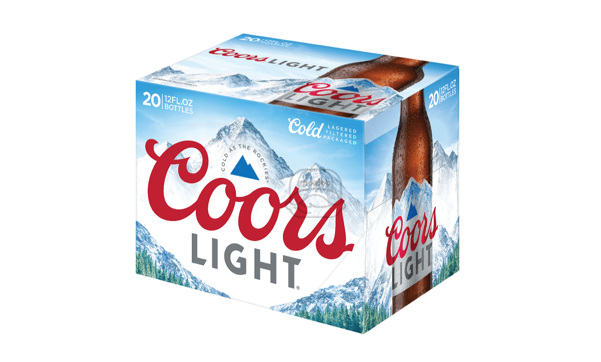 Coors Light Silver (20-Pack)