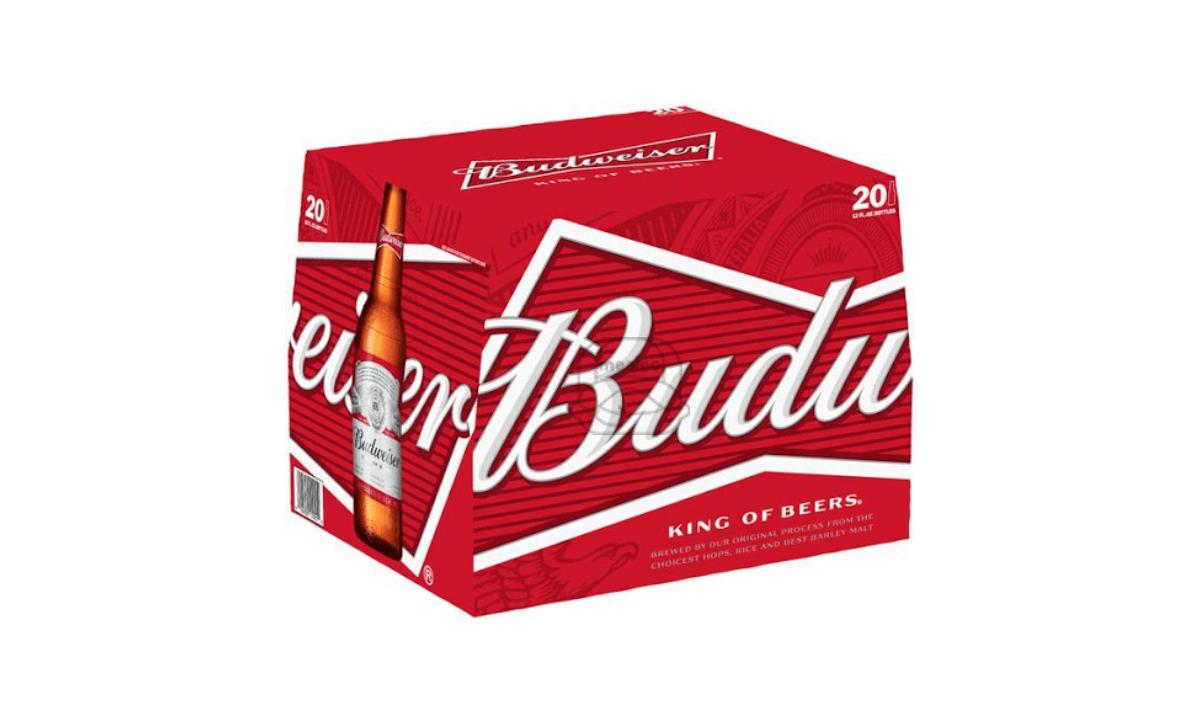 Budweiser (20-Pack)