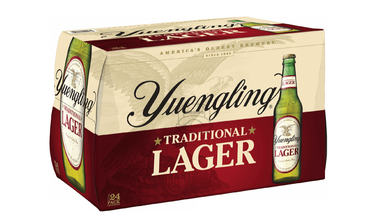 Yuengling Lager (24-Pack)