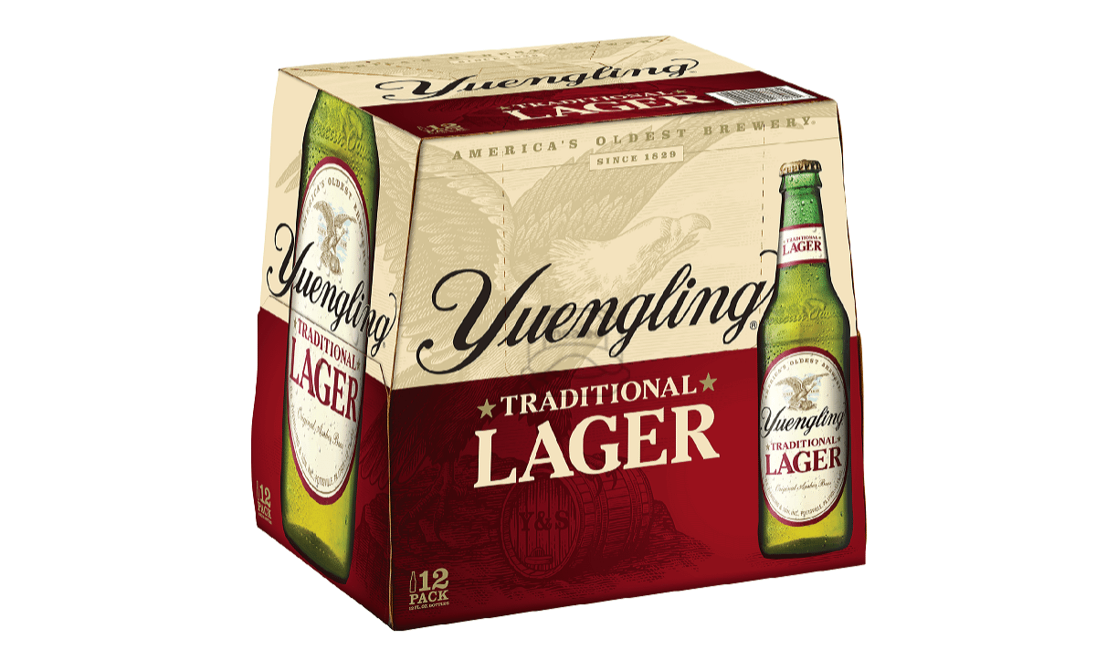 Yuengling Lager (12-Pack)
