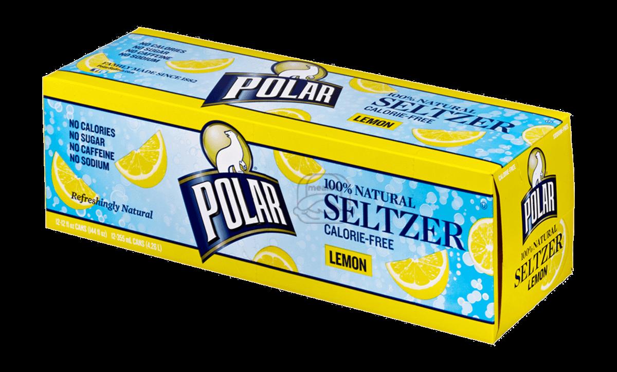 Polar Lemon Seltzer (12-Pack)