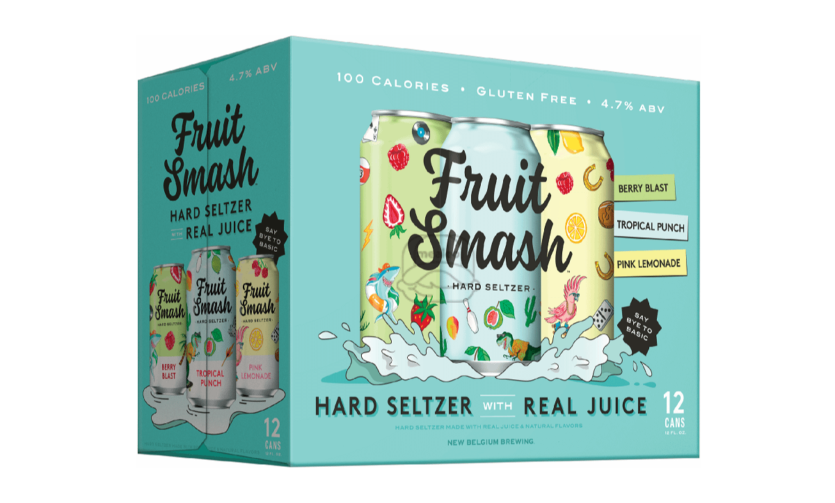 New Belgium Fruit Smash Seltzer (12-Pack)