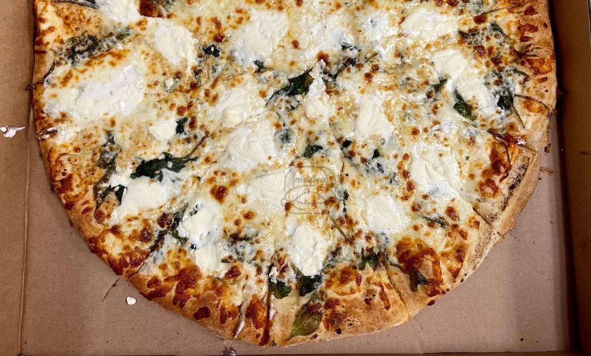 Spinach Ricotta Pizza