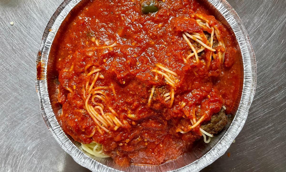 Spaghetti w/ Meatballs Dinner