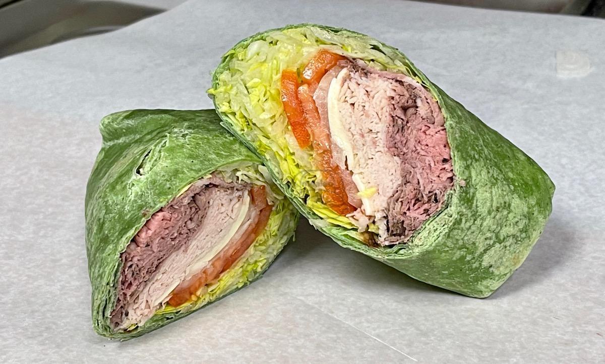 Roast Beef & Turkey Wrap