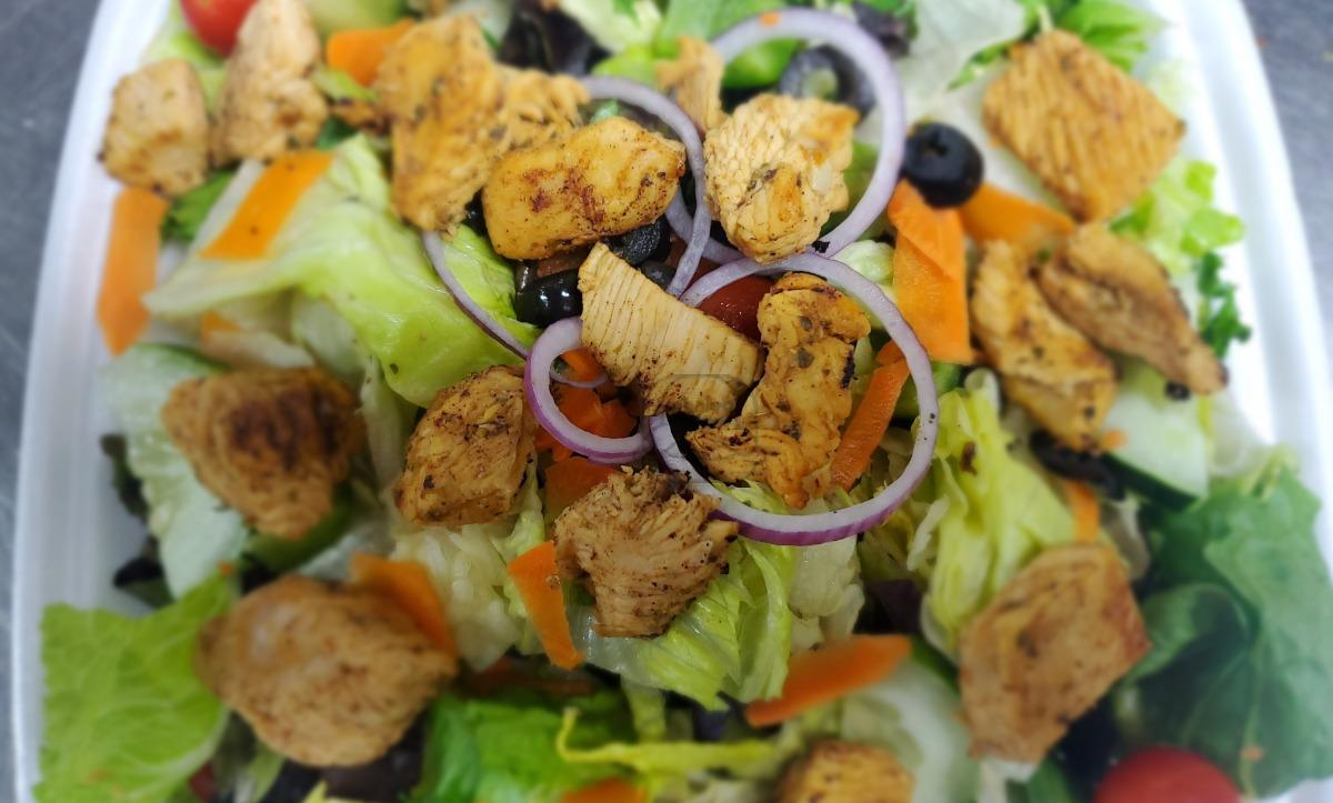 Broiled Chicken Salad