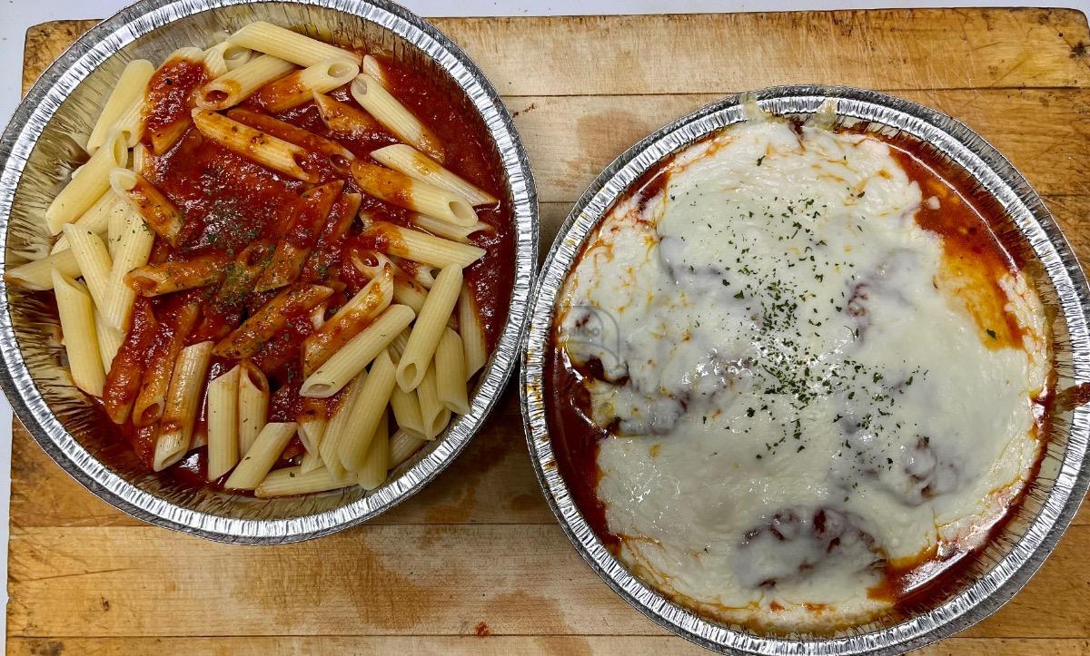 Veal Parmigiana Dinner