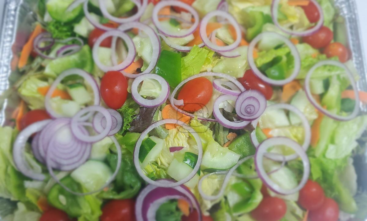 Pan of Tossed Salad