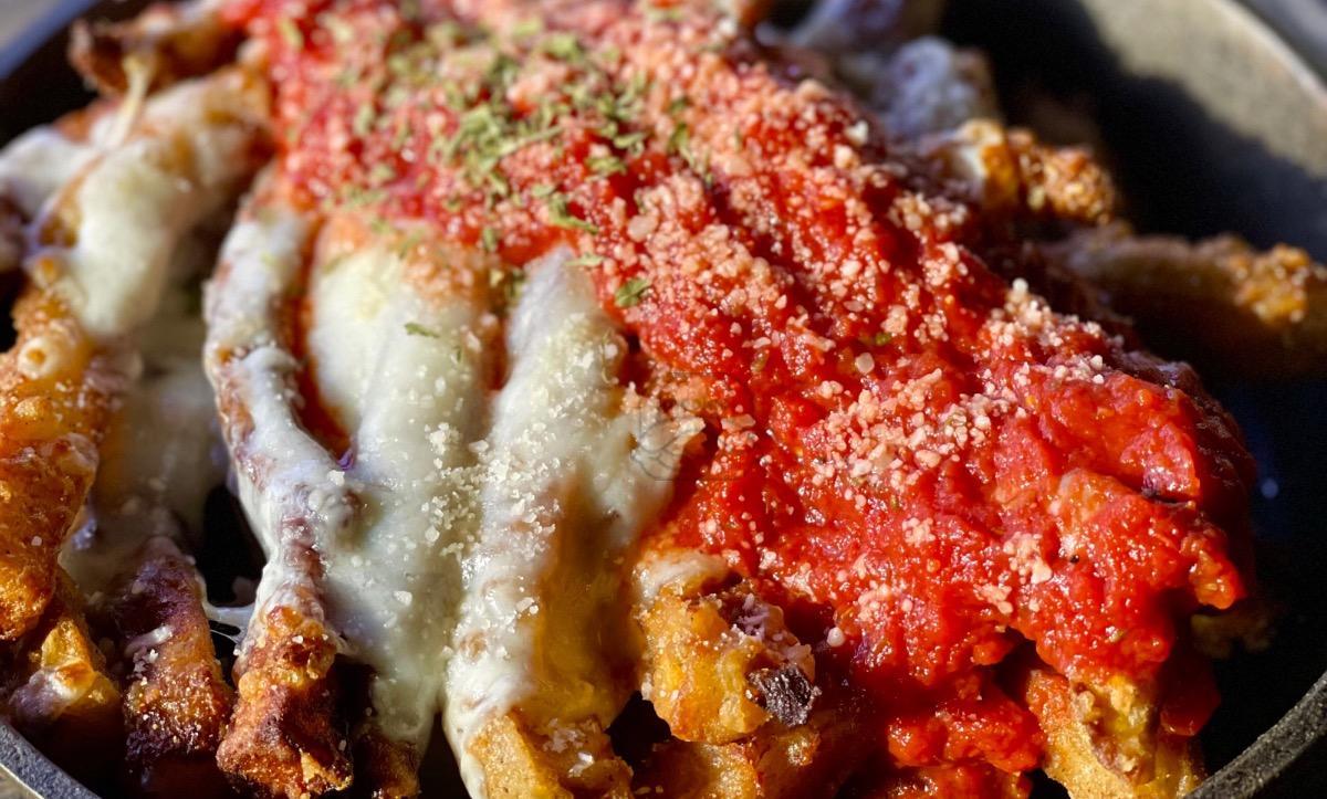 Eggplant Parmesan Fries
