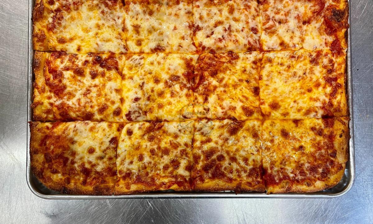 12 cut Cheese Pizza