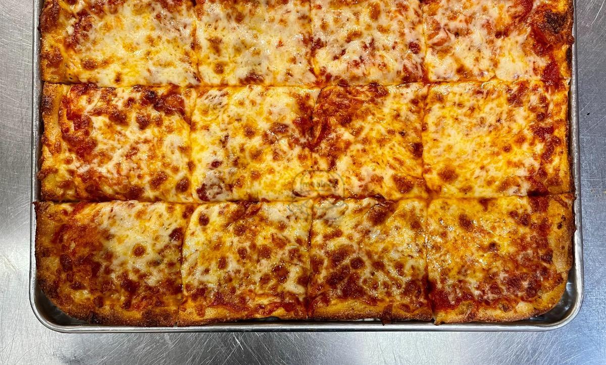 24 cut Cheese Pizza