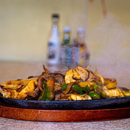 Mixed Chicken & Beef Fajitas