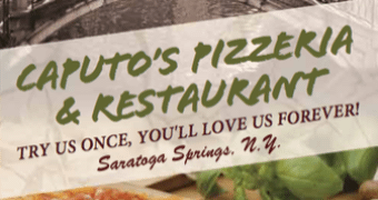 Order Delivery or Pickup from Caputo's Pizzeria, Saratoga Springs, NY