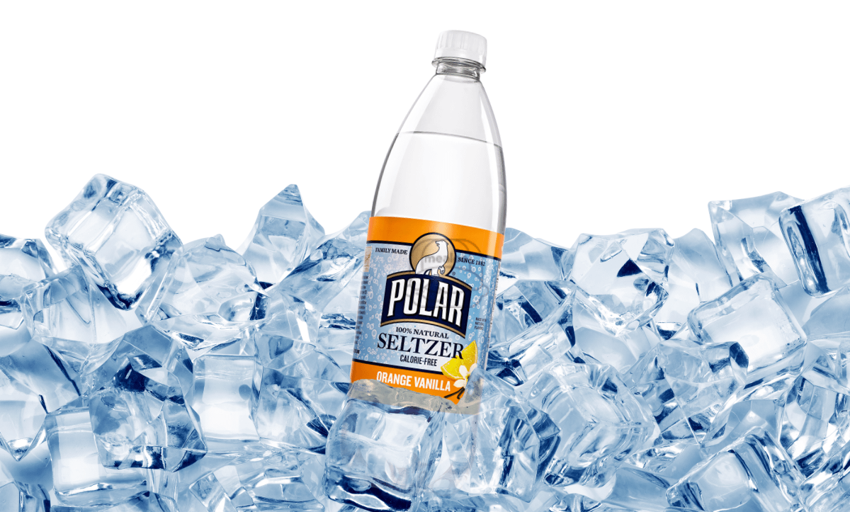 Orange Vanilla Polar Seltzer (20 oz Bottle)