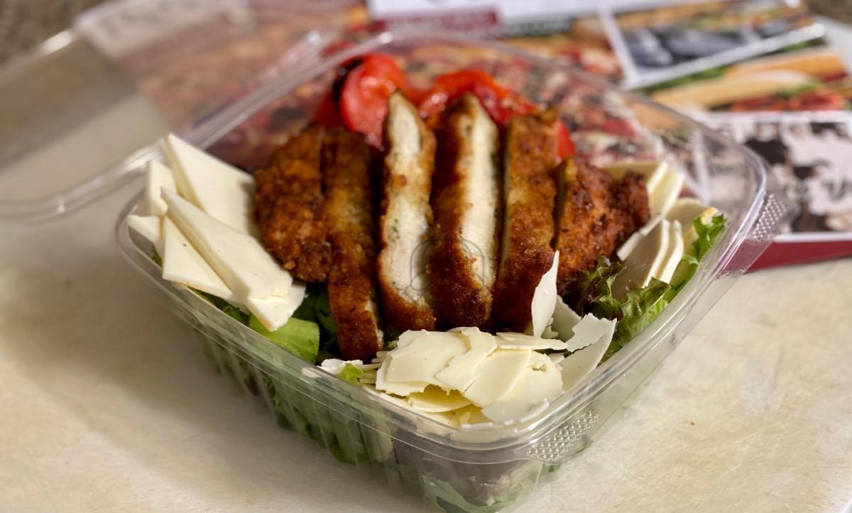 Chicken Cutlet Salad