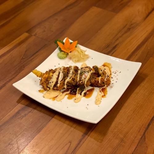 *Salmon Tempura Roll