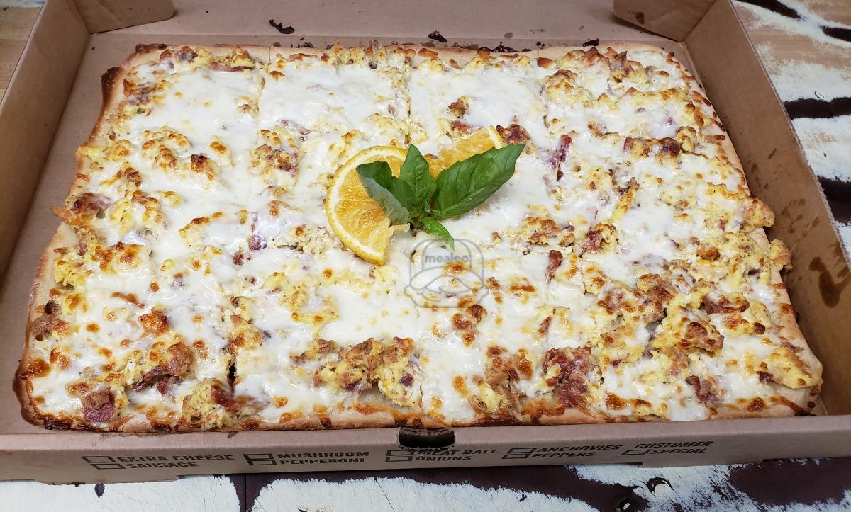 Cheese, Ham, Sausage Pizza